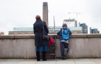 TATE modern, mother & son